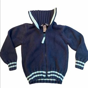 ✨3 for $30✨H&M 3-4Yrs Boys Knit Zip Up Sweater
